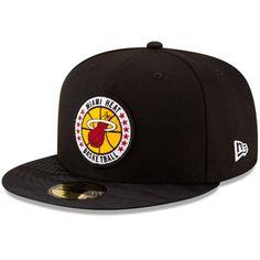 74f4f4f25df Men s Miami Heat New Era Black 2018 Tip-Off Series 59FIFTY Fitted Hat