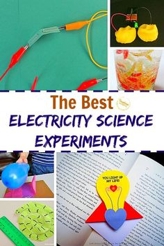 These are the best electricity science experiments to wow your kids and ignite their love of engineering! Science Activities For Kids, Cool Science Experiments, Stem Science, Easy Science, Preschool Activities, Science Projects, Family Activities, Electricity Experiments, Finding Joy