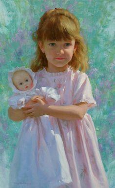 350 Oil Painting Portraits Of Children Ideas Kids Portraits Portrait Painting Portrait