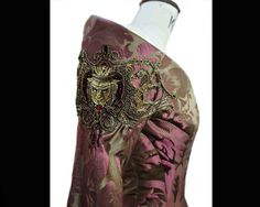 Costume Embroidery & Illustration by Michele Carragher for Film & TV - The Purple Wedding Gallery Got Costumes, Theatre Costumes, Movie Costumes, Game Of Thrones Cersei, Game Of Thrones Costumes, Orry Kelly, Mother Of The Groom Gowns, Beautiful Costumes, Embroidery Fashion