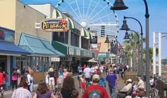 Summertime in full swing at the Myrtle Beach Boardwalk!
