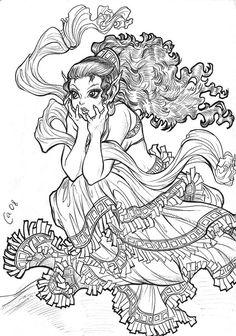 Leetah from #Elfquest by Autumn-Sacura @ deviantART. www.elfquest.com