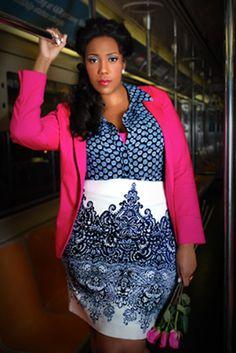 Plus size outfit pink cardigan #UNIQUE_WOMENS_FASHION