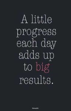 Whether it is working towards our dreams, or building up on self-confidence, or taking care of our mental health, a small thing everyday adds up to big progress
