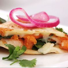How to Make Sweet Potato and Spinach Quesadillas