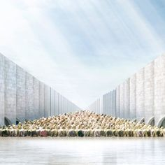 The Vanishing Mosque by RUX Design for Traffic