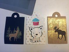 Gift tags cricut