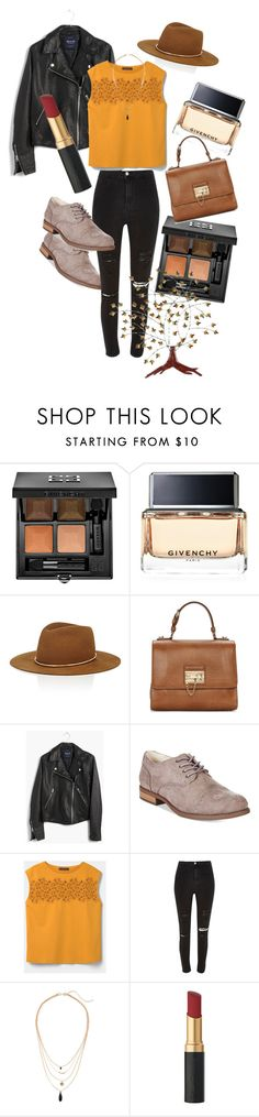 """""""Back to School #2"""" by anais-wardrobe on Polyvore featuring mode, Givenchy, Janessa Leone, Dolce&Gabbana, Madewell, White Mountain, Violeta by Mango, River Island et Southern Enterprises"""