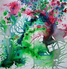 """Saatchi Art Artist violaine Vieillefond; Painting, """"Metamorphosis"""" #art"""