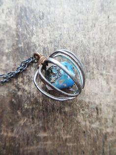 RAW collier opale pendentif pierre Raw OOAK par AmuletteJewelry