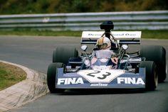 "Stanley Michael Bailey ""Mike"" Hailwood (ENG) (Brooke Bond Oxo Team Surtees), Surtees TS14A - Ford-Cosworth DFV 3.0 V8 (finished 14th) 1973 German Grand Prix, Nürburgring Nordschleife"