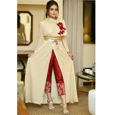 Parineeti Chopra wearing Prathyusha Garimella's Red Lehenga and Embroidered Cape Set, and looks so regal!Sumbul Iqbal stunning clicks at launch event!Order contact my whatsapp number dress with long jacketImage may contain: 1 person Pakistani Fashion Party Wear, Pakistani Formal Dresses, Indian Dresses, Indian Outfits, Designer Party Wear Dresses, Kurti Designs Party Wear, Indian Designer Outfits, Bridal Outfits, Bridal Dresses