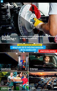CUIDO MI COCHE<br>Todo lo que necesitas saber para ahorrar y alargar la vida de tu vehículo en una app.<p>¿Qué te permite esta app?<p>> Consejos prácticos para ahorrar y prolongar la vida de tu vehículo a través de vídeos breves y didácticos sobre: el aire acondicionado, los amortiguadores, la batería, las bujías y los calentadores, la dirección, las escobillas, los filtros de habitáculo y de motor, el freno de disco y de tambor, la gestión del motor, la iluminación, el kit de distribución y…