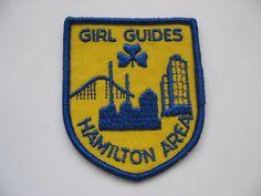 GIRL GUIDES PATCH - HAMILTON AREA