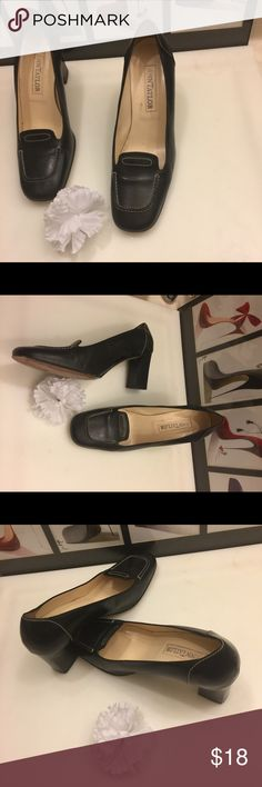 """👠Shoe Lovers Sale👠 Ann Taylor Pumps 👠Shoe Lovers Sale👠 Ann Taylor Pumps in excellent preowned condition. Please take a look at pictures before making a purchase, also ask questions if any. Size:7.5  Color:Black      Heel:3""""  ❗️Final Markdown❗️ Ann Taylor Shoes Heels"""