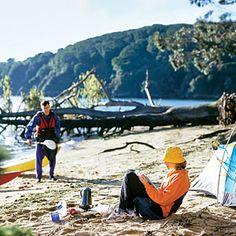 Peaceful camping at Point Reyes National Seashore.