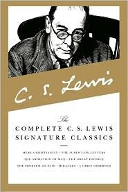 C.S. Lewis books i've read thus far: screwtape Letters, till we have faces, the great divorce, all of the chronicles of narnia, and some of mere christianity... All totally worth reading!:)