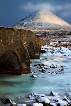 Sligachan Old Bridge. Isle of Skye. Scotland. By Barbara Jones on 500px