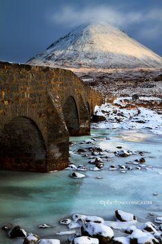 Sligachan Old Bridge, Isle of Skye, Scotland.