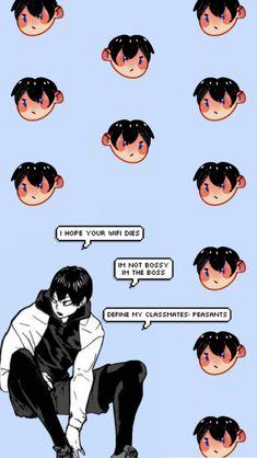 Wallpaper Azul, Anime Wallpaper Phone, Cool Anime Wallpapers, Haikyuu Wallpaper, Animes Wallpapers, Hinata, Haikyuu Kageyama, Haikyuu Fanart, Haikyuu Anime