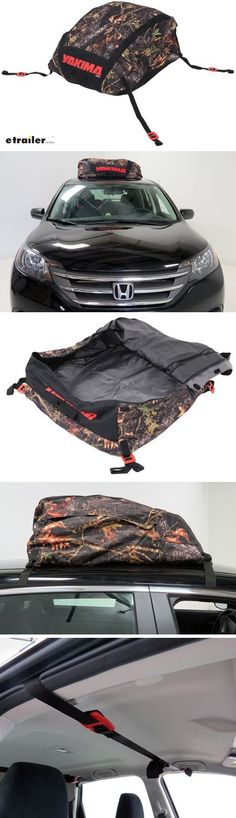 This water-resistant polyester bag lets you transport cargo on your roof. The camouflage bag attaches to rails, bars, or naked roofs. An anti-skid bottom keeps bag in place on your roof, and grab handles make it easy to lift the bag. Southern California Camping, Gifts For Hunters, Hunting Gear, Camouflage, Transportation, Car, Naked, Vehicles, Creative