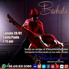Aprende a Bailar #Bachata en el #2017 Invita un amigo al #SanoVicioDeBailar #Taller #Workshop #Baile #Dance Whatsapp 58 416 831 0380 Inscripciones abiertas ya en www.rumbacana.com