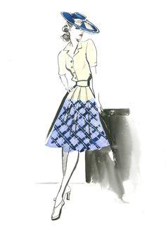 Die Mode der 40er Jahre aus  ALLIED – VERTRAUTE FREMDE: Ab 22. Dezember im Kino. Mit Brad Pitt, Marion Cotillard, Jared Harris, Lizzy Caplan und Matthew Goode. #VintageFashion #Retro #Fashion