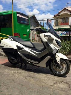 right side Yamaha Nmax, Scooters, Motorbikes, Motorcycles, Concept, Biking, Biking, Motors, Vespas