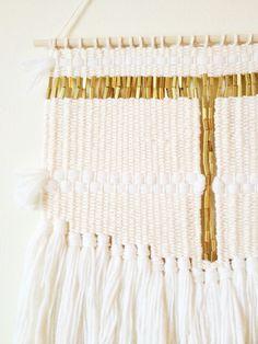 white sun weaving by hazel & hunter