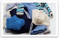 knitted for baby brother / strikket til lillebror