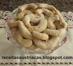 RECEITAS AUSTRÍACAS E ALEMÃS - DOCES: Bolachas/Biscoitos