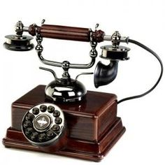 """""""El teléfono del sultán"""" Teléfono actual inspirado en el estilo turco de los años 20."""