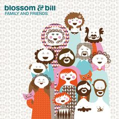 FAMILY AND FRIENDS OF BLOSSOM & BILL