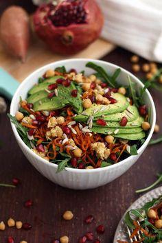 15 Hearty & Healthy Vegan Salad Recipes