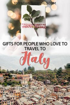 Looking For Gifts For Italy Lovers? Look at These 25 Best Travel Gifts Ideas For Women And Men Who Are Obsessed With Italy Italy Travel Tips, Travel Destinations, Greece Travel, Best Travel Gifts, Visit Italy, Travel Guides, Travel Hacks, European Travel, Travel Inspiration