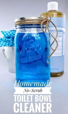 In this post, I will share a simple DIY no-scrub toilet bowl cleaner that will certainly make your life easier. This cleaner works wonderfully to keep your toilet bowl smelling fresh and free from … Cleaners Homemade, Diy Cleaners, Homemade Toilet Cleaner, House Cleaning Tips, Cleaning Hacks, Cleaning Recipes, Green Cleaning, Spring Cleaning, Homemade Cleaning Supplies