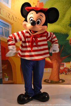 Parisian Mickey Mouse at Cafe Fantasia - Disneyland Paris.