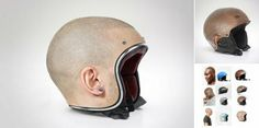 Protect Your #Head With a Second Scalp: Project: Human Helmet turns you own head into protective motorcyclist gear on the road