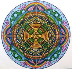 ❤~ Mandala ~❤ Sunflower by Christina Mandala Drawing, Mandala Painting, Mandala Art, Mandala Meditation, Buda Zen, Circle Art, Hippie Art, Sacred Art, Fractal Art