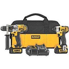 DEWALT DCK290L2 20-Volt MAX Li-Ion 3.0 Ah Hammer Drill and Impact Driver Combo Kit Review