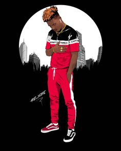 Discover recipes, home ideas, style inspiration and other ideas to try. Swag Cartoon, Dope Cartoon Art, Nike Cartoon, Arte Dope, Dope Art, New School Hip Hop, Image Swag, Trill Art, Black Cartoon Characters