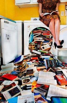 cleaning books