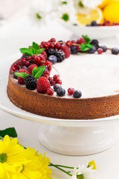 Italian Lemon Almond Flour Cake (grain-free, gluten-free) - Texanerin Baking