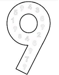 cijfers leren - kinderwerkbladen Coloring Worksheets For Kindergarten, Kids Education, Crafts For Kids, Homework, Exercises, Softies, Kids Learning, Occupational Therapist, Numbers