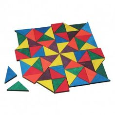 Wooden Pattern Blocks - Mosaic Tiles