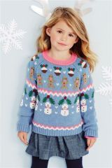 #ChristmasJumpers for #Kids available at Next #WaltononThames #HeartShopping #Christmas #Fashion #Jumper