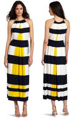 Nautical Stripe Maxi Dress,  Nice...