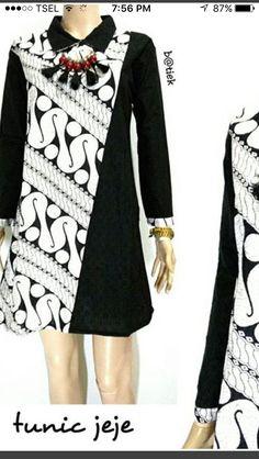Batik Fashion, Abaya Fashion, Ethnic Fashion, African Fashion, Fashion Dresses, Womens Fashion, Lolita Fashion, Emo Fashion, Kebaya Dress
