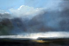 Early Light Mull (II) - Oil on Board - Zarina Stewart-Clark, Lansdscape Artist
