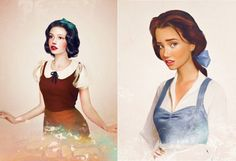 Snow White and Belle